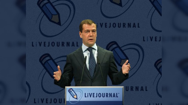 Medvédev populariza blogs entre la clase política