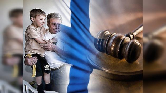 Diplomáticos finlandeses responderán por secuestro de niño ruso