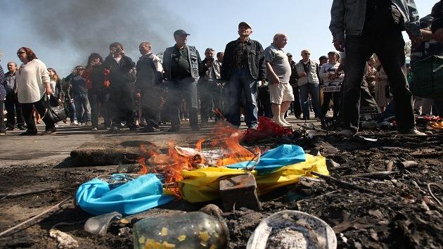 "Rusia: ""Occidente introduce un bloqueo informativo sobre Ucrania"""