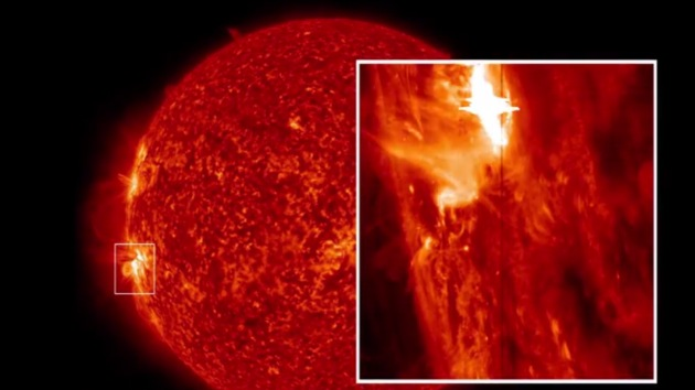 Video: Espectaculares imágenes de la mayor erupción solar jamás captada por el IRIS