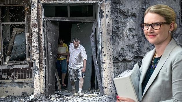 EE.UU.: Kiev usa artillería para proteger a los civiles