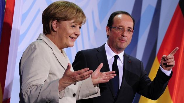"""""""Hollande y Merkel harán todo lo posible para proteger el euro"""""""