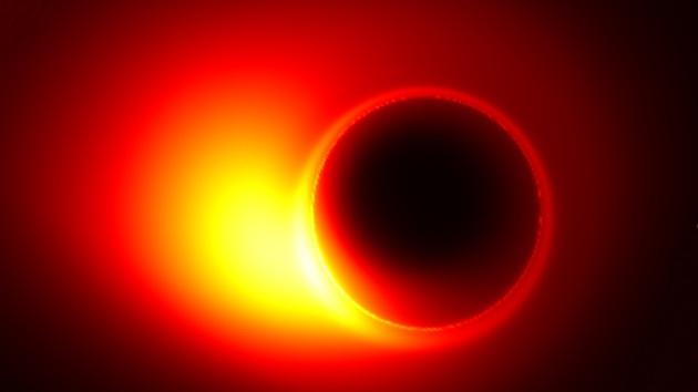 """Logran medir el radio de un agujero negro al que llaman la """"puerta de salida"""" del Universo"""