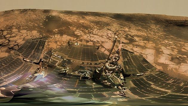 Un 'panorama interactivo' de Marte agita la polémica en Internet
