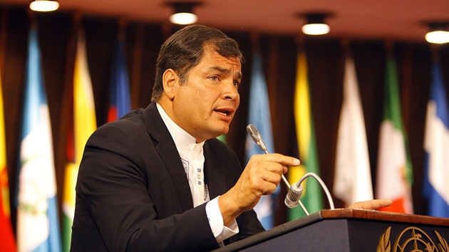Rafael Correa plantea crear una moneda común en Latinoamérica