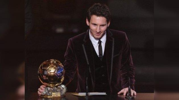 Tercer Balón de Oro consecutivo para Messi
