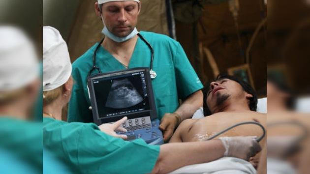 El hospital móvil de Rusia concluye su trabajo en Chile