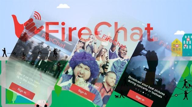 FireChat: mensajería sin conexión a Internet gana popularidad en el mundo