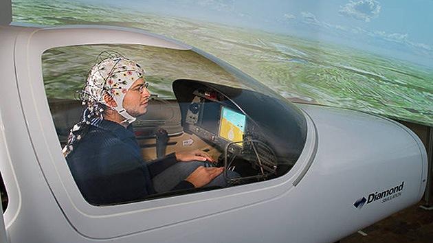 Pilotar aviones con la mente, una realidad al alcance de la mano