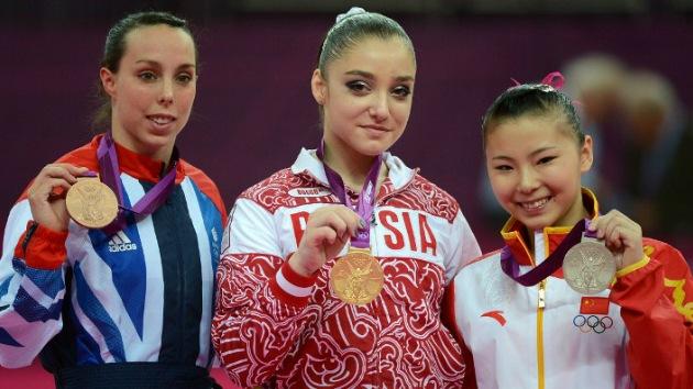Londres 2012: Aliya Mustáfina, campeona olímpica de gimnasia en barras asimétricas