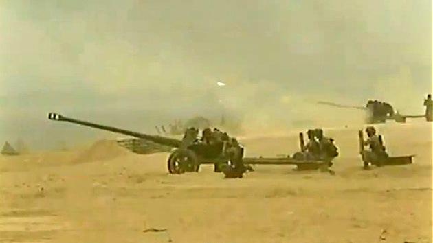 """Video: El Ejército chino """"se ejercita"""" en desembarcos"""