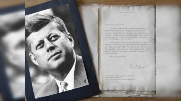 Hallan la que posiblemente sea la última carta escrita por John F. Kennedy