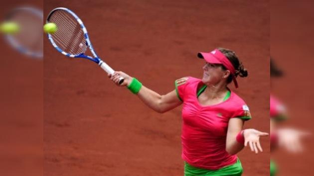 Pavliuchénkova vence a Stosur y se mete en cuartos de final del Masters de Madrid