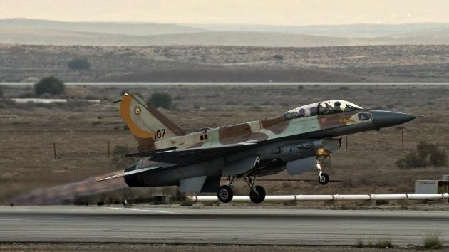 Salta a la Red un supuesto video del ataque israelí en territorio sirio