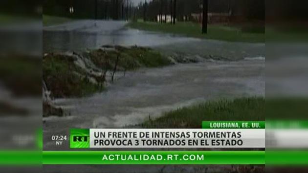 El sudeste de EE. UU. azotado por intensas lluvias y tormentas