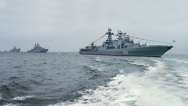 Rusia no descarta desplegar flotillas permanentes en el Pacífico y el Índico