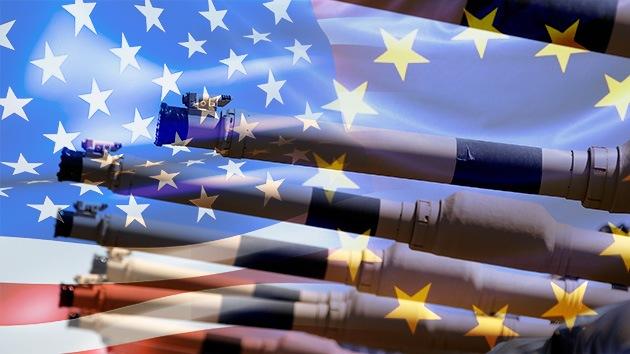 EE.UU. y Europa discuten un plan para suministrar a Ucrania armas pesadas