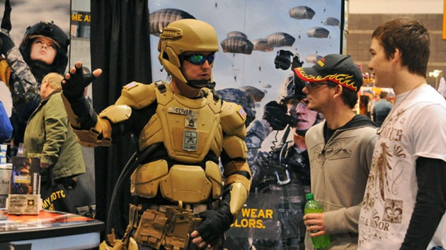 Video: El Ejército de EE.UU. probará sus primeros 'trajes de Iron Man' en junio