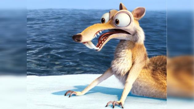 Descubren los restos de Scrat, la ardilla de los dientes de sable