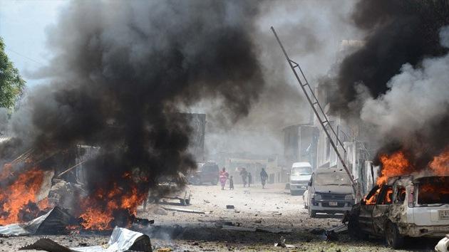 Al menos ocho muertos por un atentado con bomba en la capital de Somalia