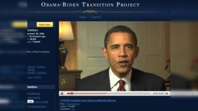 Obama respondió en vivo a preguntas de usuarios de YouTube