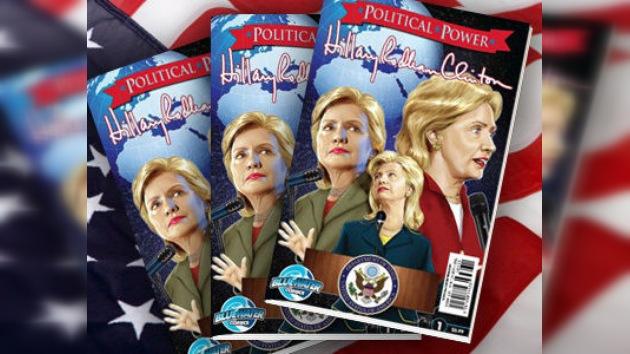 Hillary Clinton, 'reelegida' como protagonista de cómic