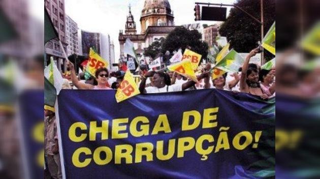 Protestas contra la corrupción en el Día de la Independencia de Brasil