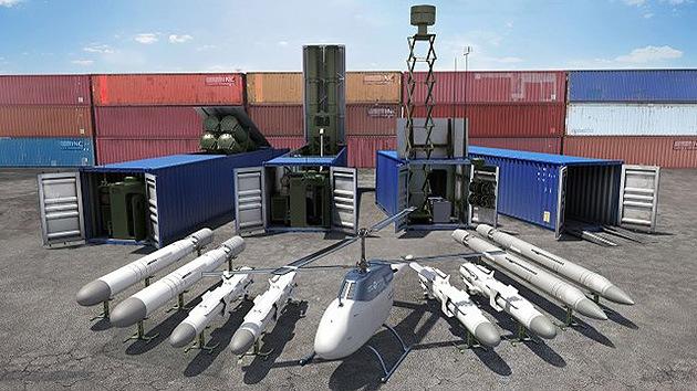 Video: Rusia exhibirá en la feria LIMA-2013 misiles escondidos en contenedores
