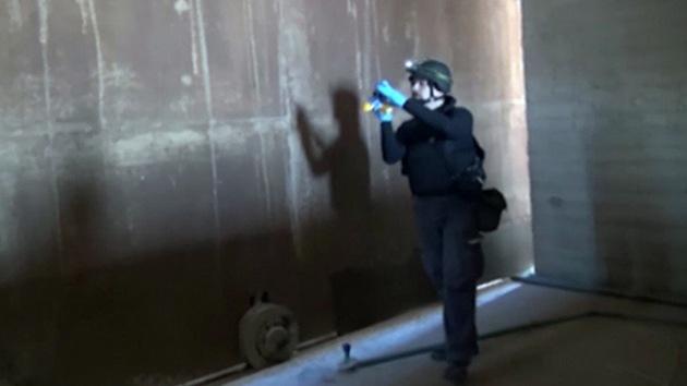 Inspectores internacionales revisan 11 arsenales químicos en Siria