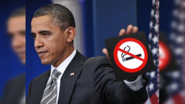 Barack Obama lleva nueve meses sin fumar