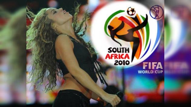 Sudáfrica 1- Shakira 0. ¿Con quién vas tú?