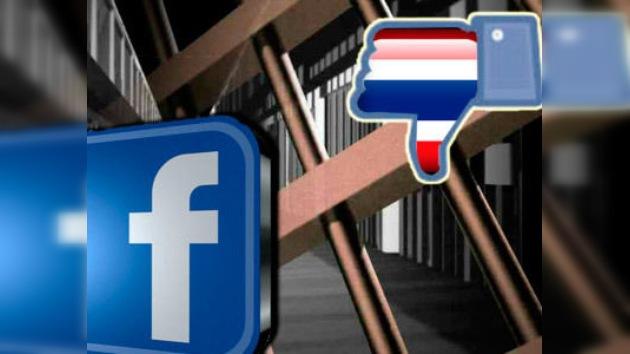 A las autoridades tailandesas no les gusta el 'me gusta' de Facebook