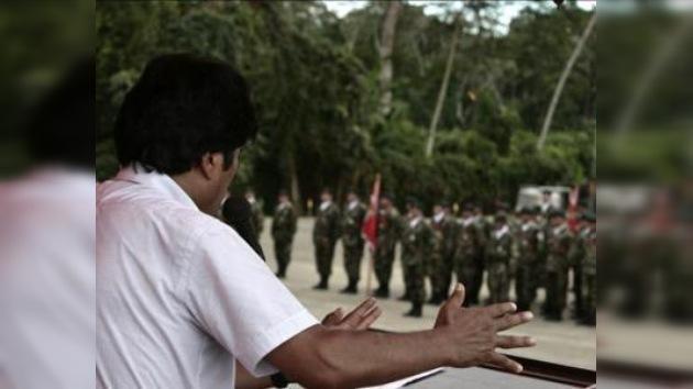 Evo Morales cambió el lema del Ejército boliviano por 'Patria o muerte'