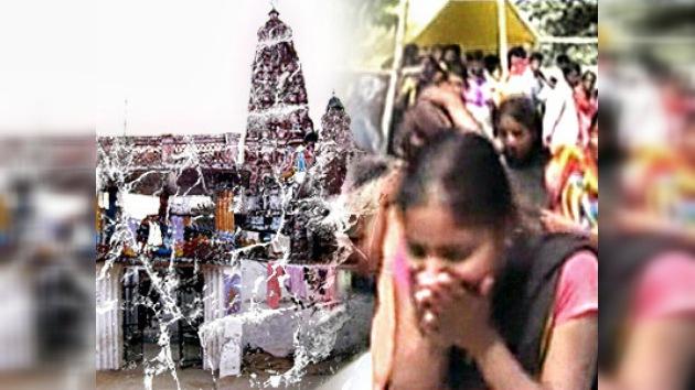 Decenas de muertos por una estampida en un templo de la India