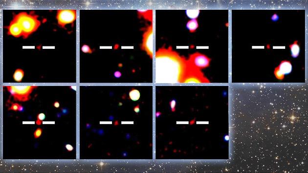 Sorpresa cósmica: Hallan 7 nuevas galaxias en el Universo más distante