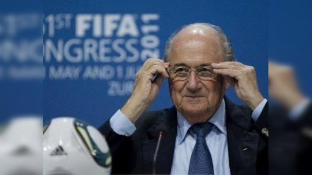 Josep Blatter reelegido como presidente de la FIFA