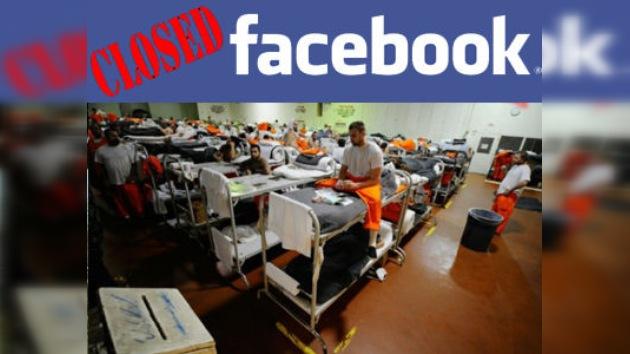 Facebook desactivará los perfiles activos de los reclusos de California