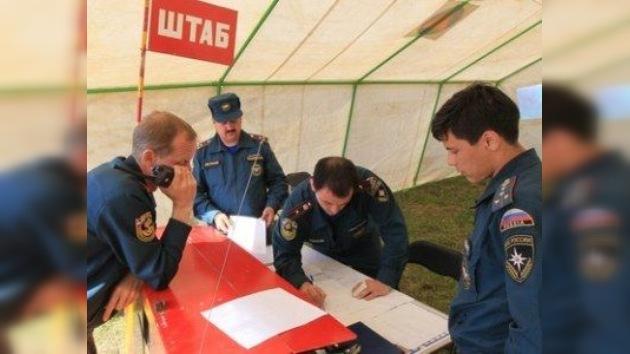 Logran controlar el incendio desatado en un depósito ruso de municiones