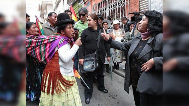 Indígenas bolivianos llegan a La Paz para exigir la construcción de una carretera