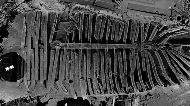 Científicos revelan secretos del enigmático barco hallado bajo las ruinas de 11-S