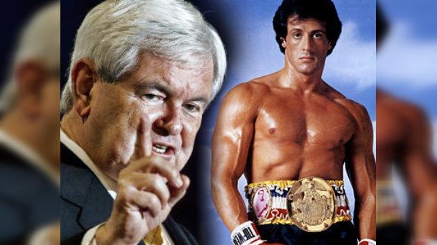 EE. UU.: demandan a Gingrich por el uso de la música de la película Rocky III