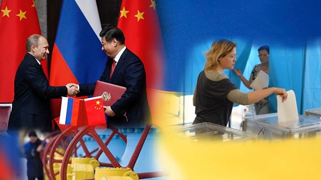 Balance semanal: Contrato histórico entre Rusia y China, liberación de periodistas rusos y elecciones en Ucrania