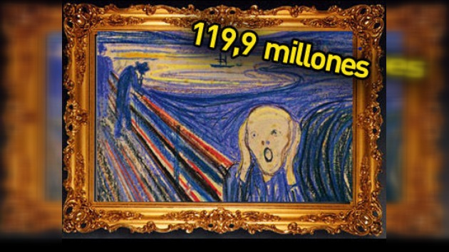 El único ´Grito´ privado de Munch subastado por casi 120 millones de dólares