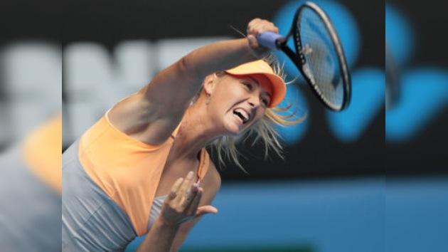 Sharápova y Kuznetsova arrancan con el pie derecho en el Australian Open