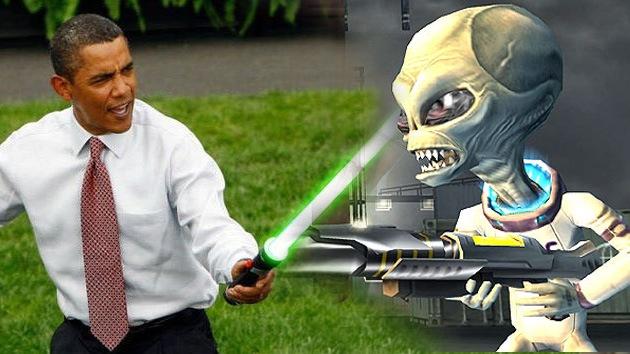 Obama goza de más confianza en caso de que haya que lidiar con extraterrestres