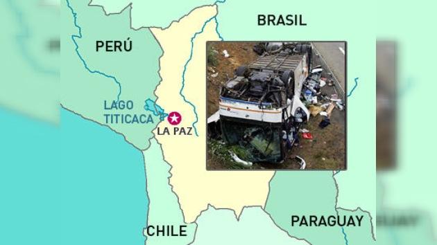 Quince muertos y diecisiete heridos deja accidente de tráfico en Bolivia