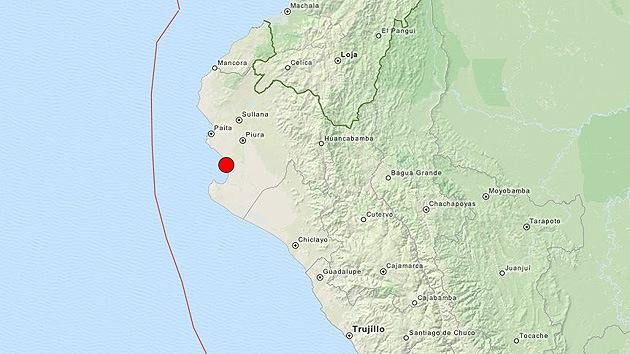 Un fuerte sismo de magnitud 6,3 sacude Perú