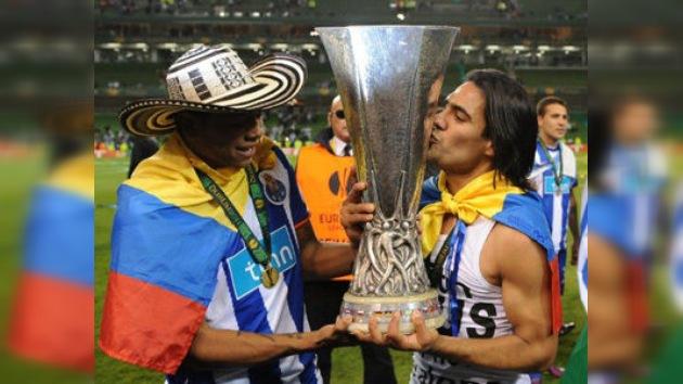 Con gol de Falcao el Oporto se proclama campeón de la Liga Europa