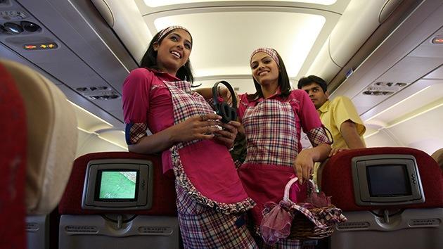 India: Una compañía aérea solo quiere a mujeres delgadas como azafatas