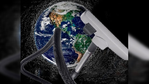 Brazos robóticos para eliminar los deshechos de la órbita